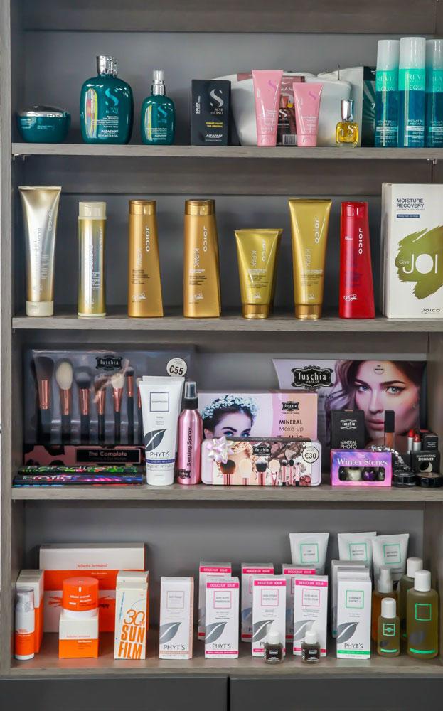 Nua Hair & Beauty Salon Products
